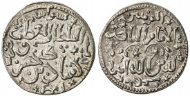SELJUQ OF RUM: Kayqubad I, 1219-1236, AR dirham (3.00g), Sivas, AH617, A-1211, Izm-256, exquisite strike, a common type, but very rare in this quality...