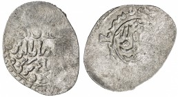 SELJUQ OF RUM: Mas'ud II, 2nd reign, 1302-1308, AR dirham (2.28g), Megri, DM, A-1236, Izm-1521, extremely rare mint, now known as Fethiye, active only...
