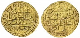 OTTOMAN EMPIRE: Murad IV, 1623-1640, AV sultani (3.30g), Kostantiniye, AH1032, A-1369, slightly weak strike, full date & mint, VF, RR. Only Misr is co...