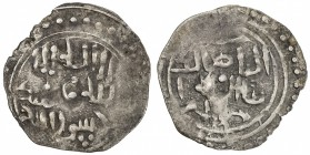 GREAT MONGOLS: Anonymous, ca. 1225-1250, AR dirham (1.23g), Jand, ND, A-3715J, kalima // name of caliph al-Nasir, mint name above; above average quali...