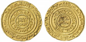 "CRUSADER KINGDOMS: Anonymous, ca. 1148-1187, AV dinar (3.74g), ""Misr"" ""519"", Ma-2, mostly legible Arabic, could have been struck prior to 1148, easily..."