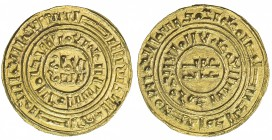 CRUSADER KINGDOMS: AV bezant (3.44g), NM, ND (ca. 1190-1260), Ma-5, A-730, derived from type A-729 of the Fatimid ruler al-Âmir, superb strike, assign...