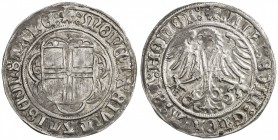 CONSTANCE (CITY): Anonymous, ca. 1499-1533, AR batzen (3.27g), ND, cf. Nau-55 ff, lovely strike, choice EF.