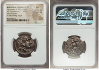 MACEDONIAN KINGDOM. Alexander III the Great (336-323 BC). AR tetradrachm (26mm, 17.21 gm, 11h). NGC AU 5/5 - 4/5. Lifetime or early posthumous issue o...