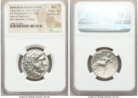 MACEDONIAN KINGDOM. Alexander III the Great (336-323 BC). AR tetradrachm (25mm, 17.11 gm, 2h). NGC AU 5/5 - 4/5. Posthumous issue of Susa, under Seleu...