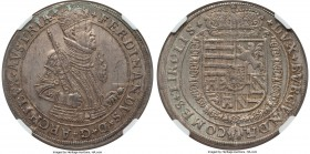 Archduke Ferdinand Taler ND (1564-1595) MS62 NGC, Hall mint, Dav-8101. Exquisitely detailed and lacking in flaws in spite of a scattering of adjustmen...