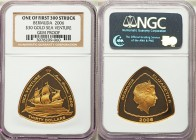"British Colony. Elizabeth II gold Proof ""Sea Venture"" 30 Dollars 2006 Gem Proof NGC,  KM-D156. Mintage: 750. One of the first 300 struck; comes with o..."