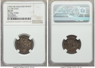 Kings of All England. Cnut (1016-1035) Penny ND (1024-1030) AU53 NGC, York mint, Witherin as moneyer, Pointed Helmet type, 0.99gm, S-1158, N-787. +CNV...