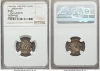 Kings of All England. Edward the Confessor (1042-1066) Penny ND (1062-1065) MS63 NGC, London mint, Aelfward as moneyer, Facing Bust/Small Cross type, ...