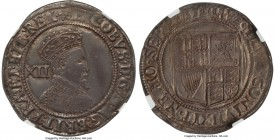 James I (1603-1625) Shilling ND (1604-05) AU55 NGC, S-2654, North-2099. A handsome gray-toned example of this first Stuart monarch's Shilling. General...