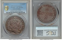 "William III Crown 1695 AU Details (Tooled) PCGS, Royal mint, KM486, S-3470. ""SEPTIMO"" edge. Despite the details grade the slight iridescent colors on ..."