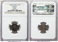 British India. George VI Proof Restrike 1/2 Anna 1940-(c) PR64 NGC, Calcutta mint, KM534. Designated as a proof on the holder, though recorded in the ...
