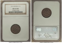 Estados Unidos Centavo 1916 MS63 Brown NGC, KM415. Exceptionally struck, clean fields, and a deep cocoa chroma.  HID99912102018
