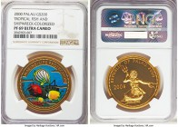 Republic gold Proof 200 Dollars 2000 PR69 Ultra Cameo NGC, KM330. Mintage: approximately 200. A fantastic and nearly perfect modern proof. AGW 0.9990 ...