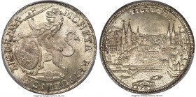 Zurich. Canton 1/2 Taler 1761 MS64 PCGS, KM146, HMZ-21165ccc. A bright offering with a satiny complexion and light silver tone throughout. Scarce in M...