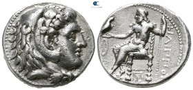 Kings of Macedon. Babylon. Philip III Arrhidaeus 323-317 BC. In the types of Alexander III. Tetradrachm AR