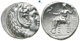Kings of Macedon. Susa. Philip III Arrhidaeus 323-317 BC. In the types of Alexander III of Macedon. Tetradrachm AR
