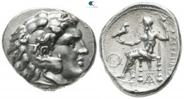 Kings of Macedon. Uncertain mint in Western Asia Minor. Time of Philip III - Lysimachos circa 323-280 BC. In the name and types of Alexander III. Tetr...