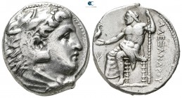 "Kings of Macedon. Pella. Alexander III ""the Great"" 336-323 BC. Struck by either the Regent Antipater or his son Kassander, circa 325-315 BC. Tetradrac..."