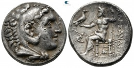 "Kings of Macedon. Pella (?). Alexander III ""the Great"" 336-323 BC. Struck circa 280-275 BC. Tetradrachm AR"