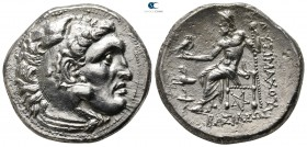 Kings of Thrace. Kolophon. Macedonian. Lysimachos 305-281 BC. In the types of Alexander III of Macedon. Struck circa 299/8-297/6 BC. Tetradrachm AR