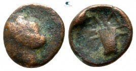 Kings of Thrace. Odrysian. Uncertain king AΔ circa 405-340 BC. Bronze Æ