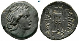 Moesia. Kallatis. ΠΟ- (Po-), magistrate circa 300-100 BC. Bronze Æ