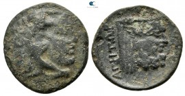 Akarnania. Federal Coinage (Akarnanian Confederacy). Leukas mint. ΑΓΗΤΩΡ (Agetor), magistrate circa 230-167 BC. Bronze Æ