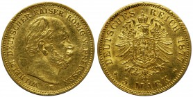 Germany - Prussia Wilhelm I - 5 mark 1877 B Hannover