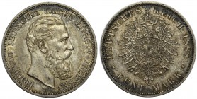 Germany - Prussia Friedrich III - 5 mark 1888 A