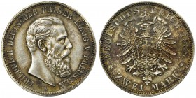 Germany - Prussia Friedrich III - 2 mark 1888 A
