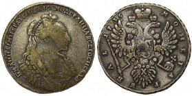 Russia Anna - Rubel 1735 Moscov