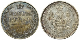 Russia Nikolai I - Rubel 1849 ПА Petersburg
