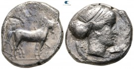 Sicily. Syracuse. Second Democracy 466-405 BC. Tetradrachm AR