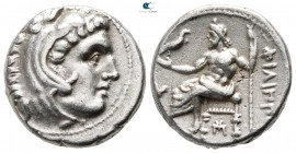 Kings of Macedon. Sardeis. Philip III Arrhidaeus 323-317 BC. In the types of Alexander III. Drachm AR