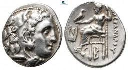 "Kings of Macedon. Kolophon. Alexander III ""the Great"" 336-323 BC. Struck circa 322-319 BC. Drachm AR"