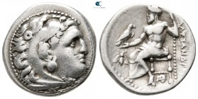 "Kings of Macedon. Magnesia ad Maeandrum. Alexander III ""the Great"" 336-323 BC. Struck under Menander, circa 325-323 BC. Drachm AR"
