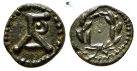 Kings of Thrace. Agathokleia (Maroneia) mint. Macedonian. Agathokles, son of Lysimachos circa 290-283 BC. Bronze Æ