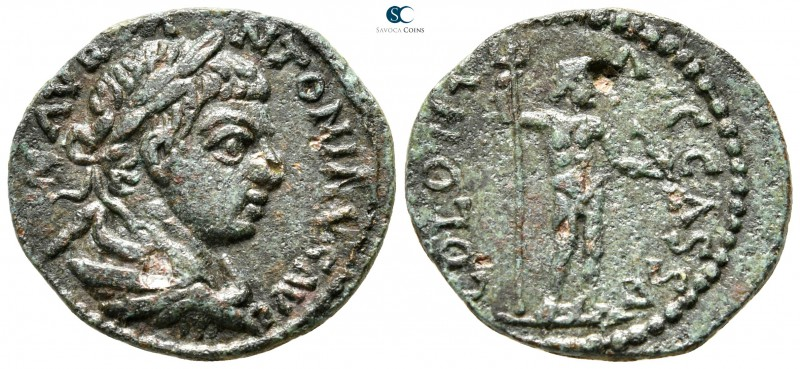 Macedon. Cassandreia. Caracalla AD 198-217. 