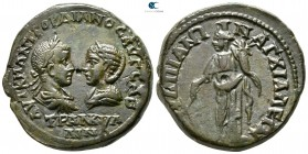 Thrace. Anchialos. Gordian III, with Tranquillina AD 238-244. Bronze Æ