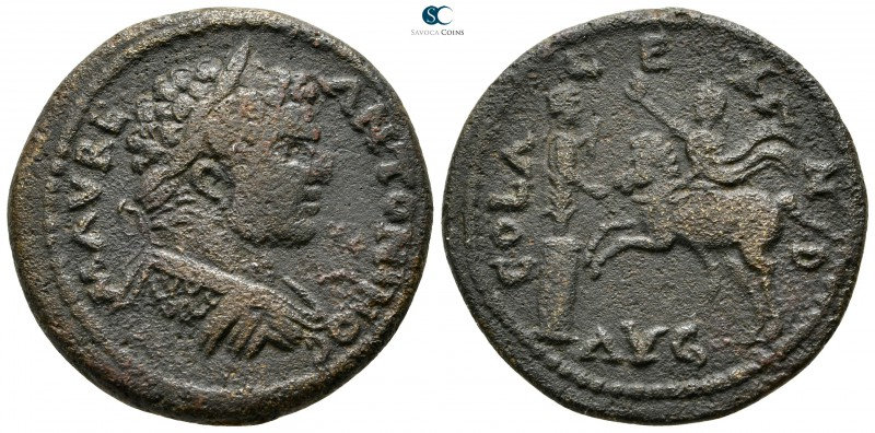 Troas. Alexandreia. Caracalla AD 198-217. 