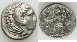 MACEDONIAN KINGDOM. Alexander III the Great (336-323 BC). AR tetradrachm (23mm, 16.89 gm, 3h). VF. Posthumous issue of Amphipolis, struck under Philip...
