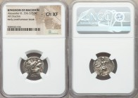 MACEDONIAN KINGDOM. Alexander III the Great (336-323 BC). AR drachm (18mm, 12h). NGC Choice XF. Early posthumous issue of Abydus (?), ca. 310-301 BC. ...