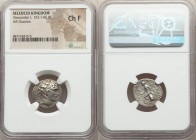 SELEUCID KINGDOM. Alexander I Balas (152-145 BC). AR drachm (18mm, 11h). NGC Choice Fine. Antioch on the Orontes, undated with primary control of SE 1...