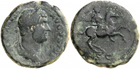 (129 d.C.). Adriano. As. (Spink 3684 var) (Co. 495) (RIC. 717). 10,06 g. MBC-.