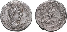 Roman - Elagabalus (218-222) - Denarius