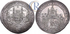 Germany. Salzburg bishopric. Paris von Lodron. Taler, 1628. AR.  Священная Римская империя. Архиепископство Зальцбург. Архиепископ Парис фон Лодрон. Т...