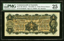 Australia Commonwealth of Australia 1 Pound ND (1932) Pick 16d PMG Very Fine 25.   HID09801242017