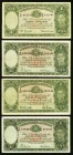 Australia Commonwealth Bank of Australia 1 Pound ND (1938) Pick 26 Group of 4 Very Fine or better.   HID09801242017