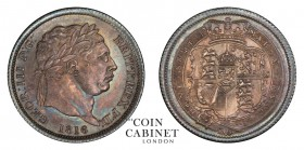 BRITISH COINS. Charles II, 1660-85. Shilling, 1816, London. PCGS MS64. 5.66 g. 23.6 mm. ESC-2140; S.3790. First date of the new coinage. Lovely dark b...